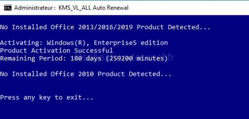Activer Windows 10 et Office 2016 » IT Blog