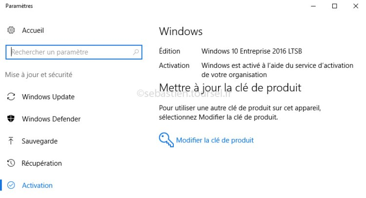 Activer Windows 10 et Office 2016 - Windows 10 Activé