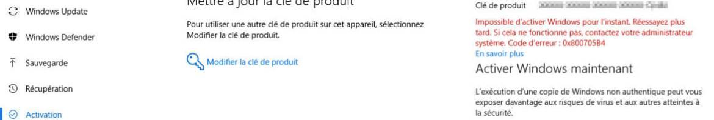 Activer Windows 10 et Office 2016 KMS Activator