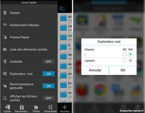 Activer OK Google sur Google Now pour votre Nexus 5 - ES Explorer Configuration