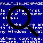Ecran bleu BSOD Stop error
