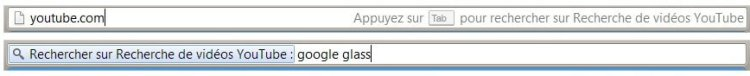 Google Chrome Omnibar Search
