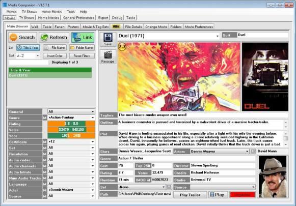 Les meilleurs logiciels 2013 Multimedia - Media Companion
