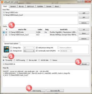 Multimedia-ConversionMKV-TsMuxer04 lire un mkv