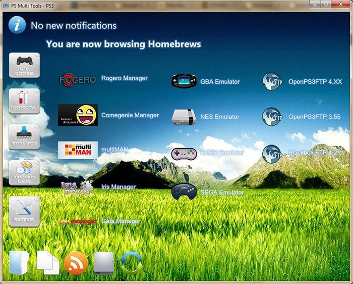 PS Multi Tools - Homebrews MultiMAN