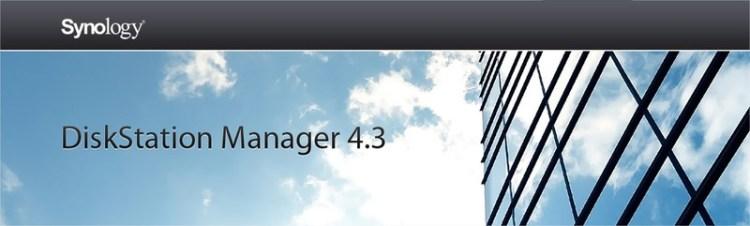 Synology dsm 4.3