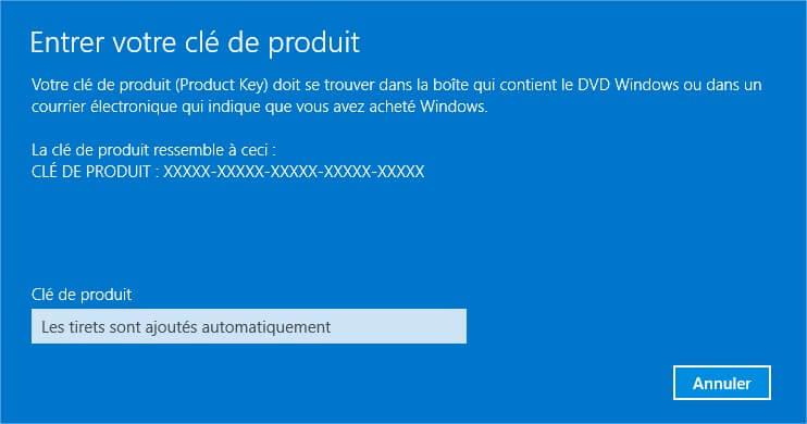 Trouvez clé Windows 8.1 Clé produit