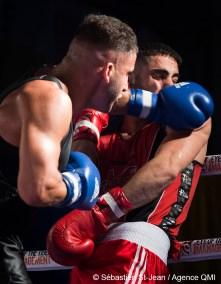 Gala de boxe Fight Club #22, présenté par Eye of the tiger Management, au Centre Claude-Robillard, à Montréal, Québec, Canada, le jeudi 7 juillet 2016. Sur cette photo: SÉBASTIEN ST-JEAN/AGENCE QMI