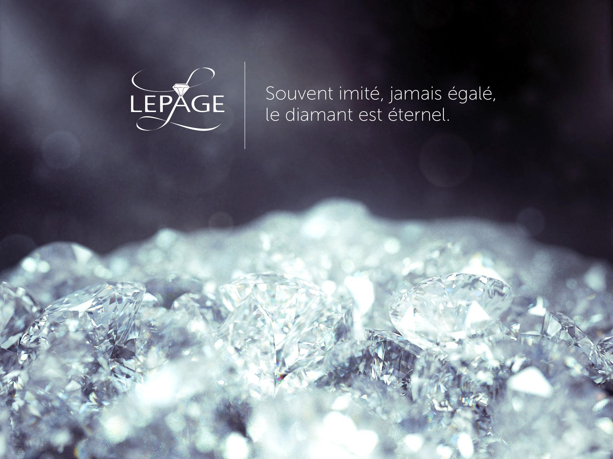 Affiche Diamant Lepage