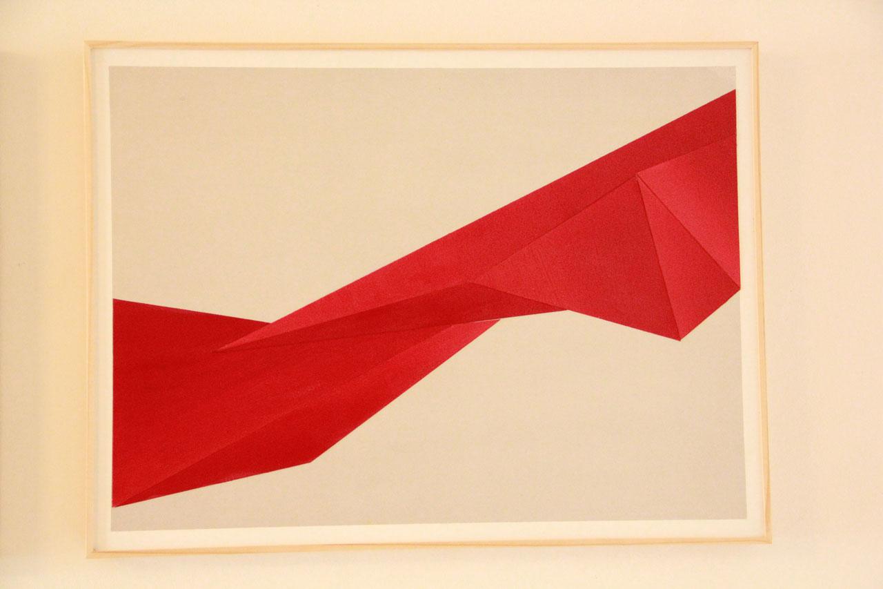 1 Triptyque Acrylique Papier - 45 x 60 cm