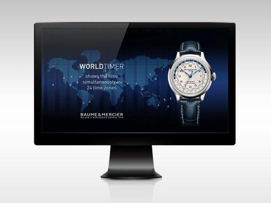 Visuel Pack Shot de la montre Capeland Beaume & Mercier