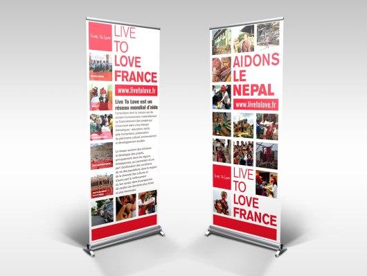 Roll Up Live to Love pour le Népal