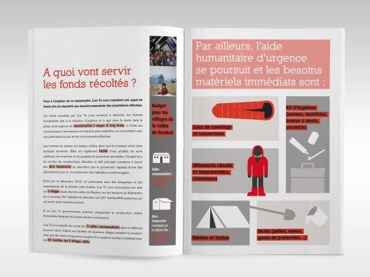 Page intérieure du dossier de presse Live To Love France