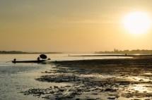 Sunset in Viantiane.