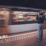 Photowalk Bruxelles filé métro