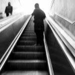 Photowalk Bruxelles escalator