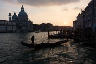 Venise Grand Canal avant traitement avec Lightroom