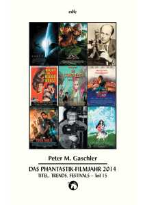 Fantasia 489e - Filmjahrbuch 2014 Teil 15 Festivals Nachrufe Literatur - EDFC 2014
