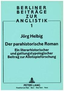 der parahistorische roman