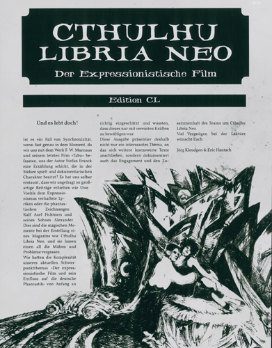 Jörg Kleudgen - Cthulhu Libria Neo