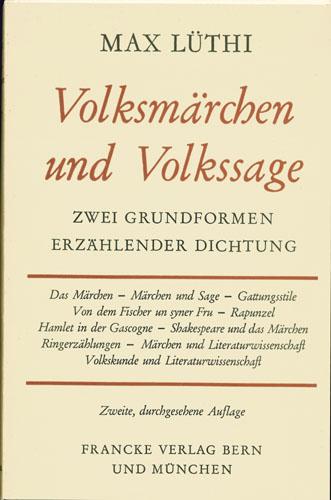 Max Lüthi - Volksmärchen und Vokssage