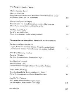 Das Kind im Leser – Inhaltsverzeichnis Seite 2