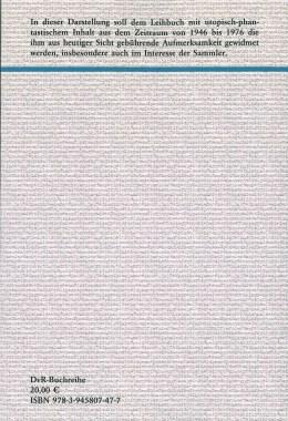 Das utopisch-phantastische Leibuch nach 1945 – Rückencover