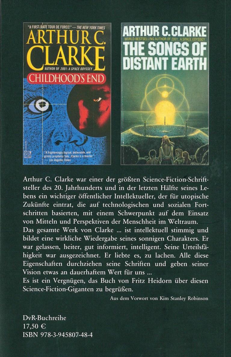 Arthur C. Clarke-Jenseites des Möglichen - Rückencover