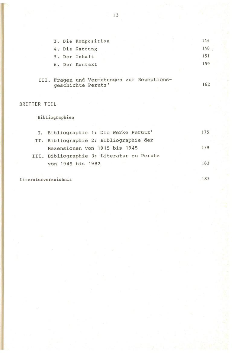 Erinnerung und Schrecken - Inhalt Seite 3