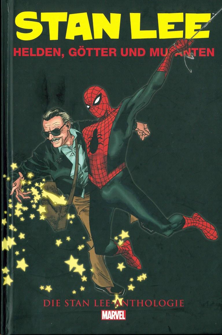 Stan Lee - Helden, Götterund Mutanten - Titelcover