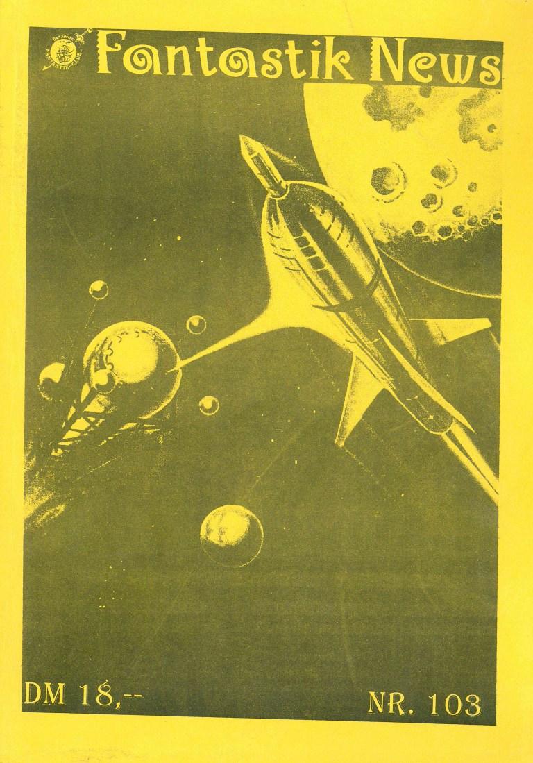 Fantastik News, NR. 103 - Titelcover