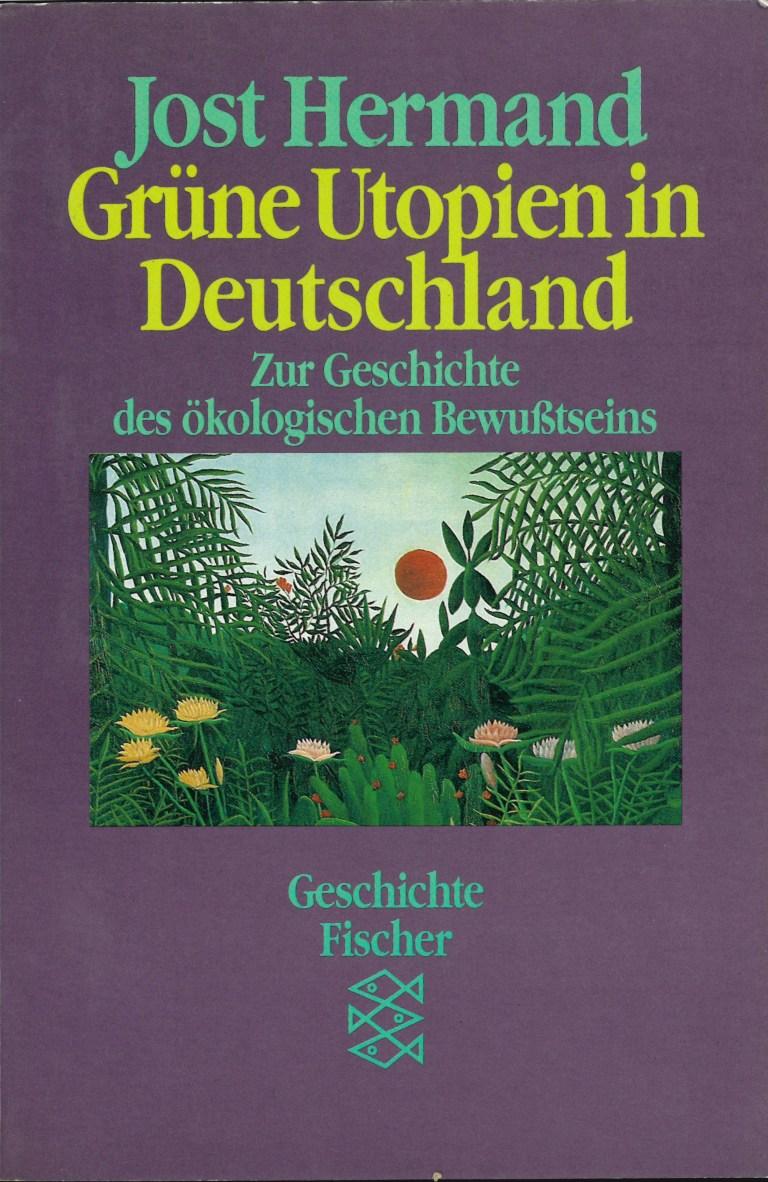 Grüne Utopien in Deutschland - Titelcover