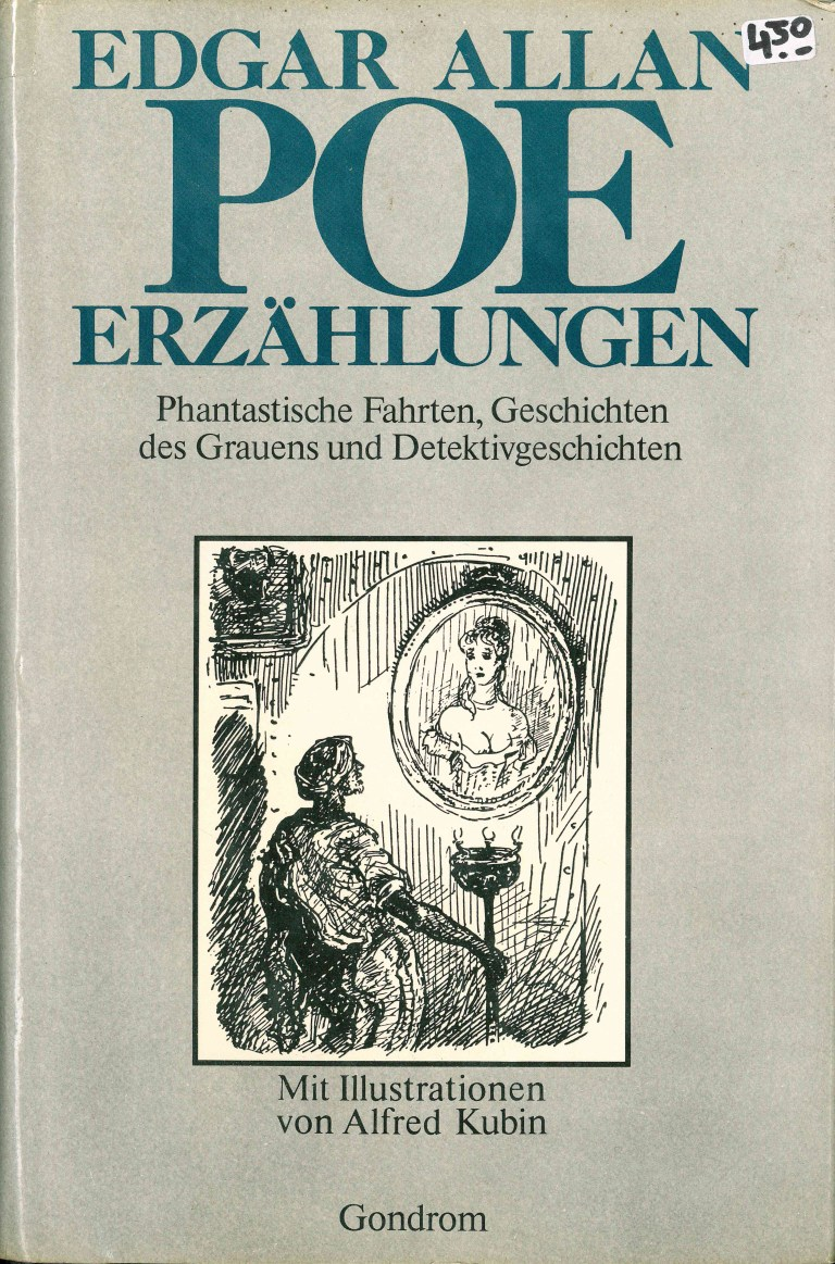 A. E. Poe - Erzählungen - Titelcover