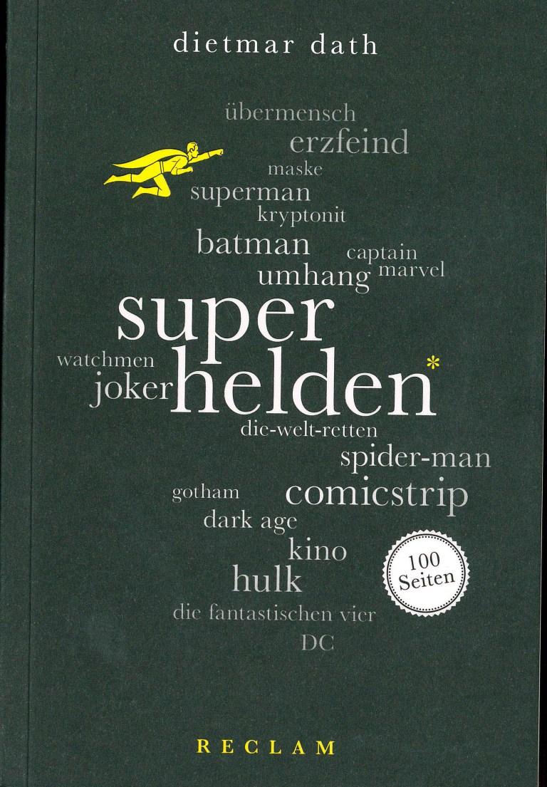 Superhelden. 100 Seiten - Titelcover