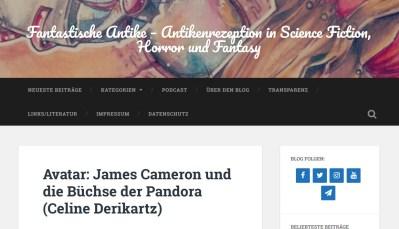 Antikenrezeotion James Cameron Avatar