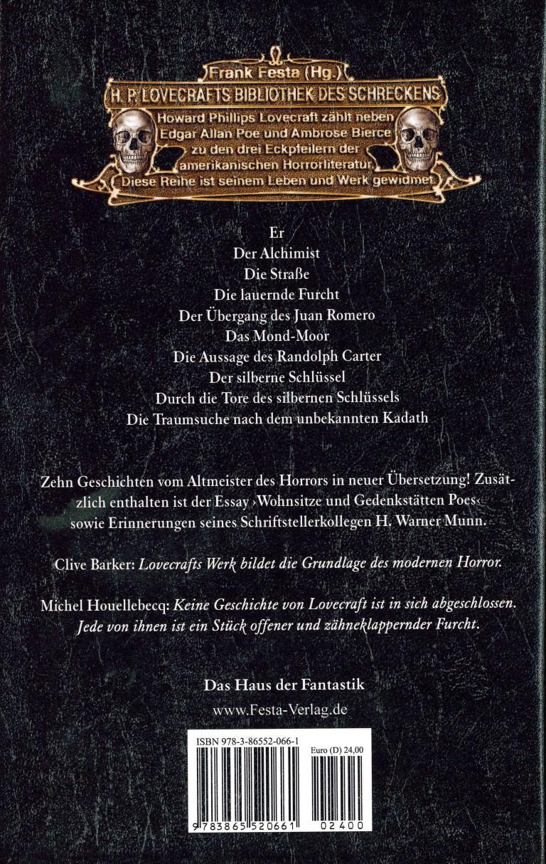 Cthulhu-Horrorgeschichten - Rückencover