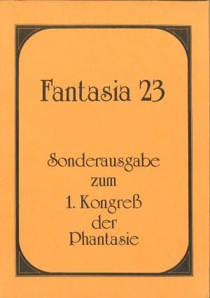 Fantasia 23 - 1. Kongreß der Phantasie - Titelcover