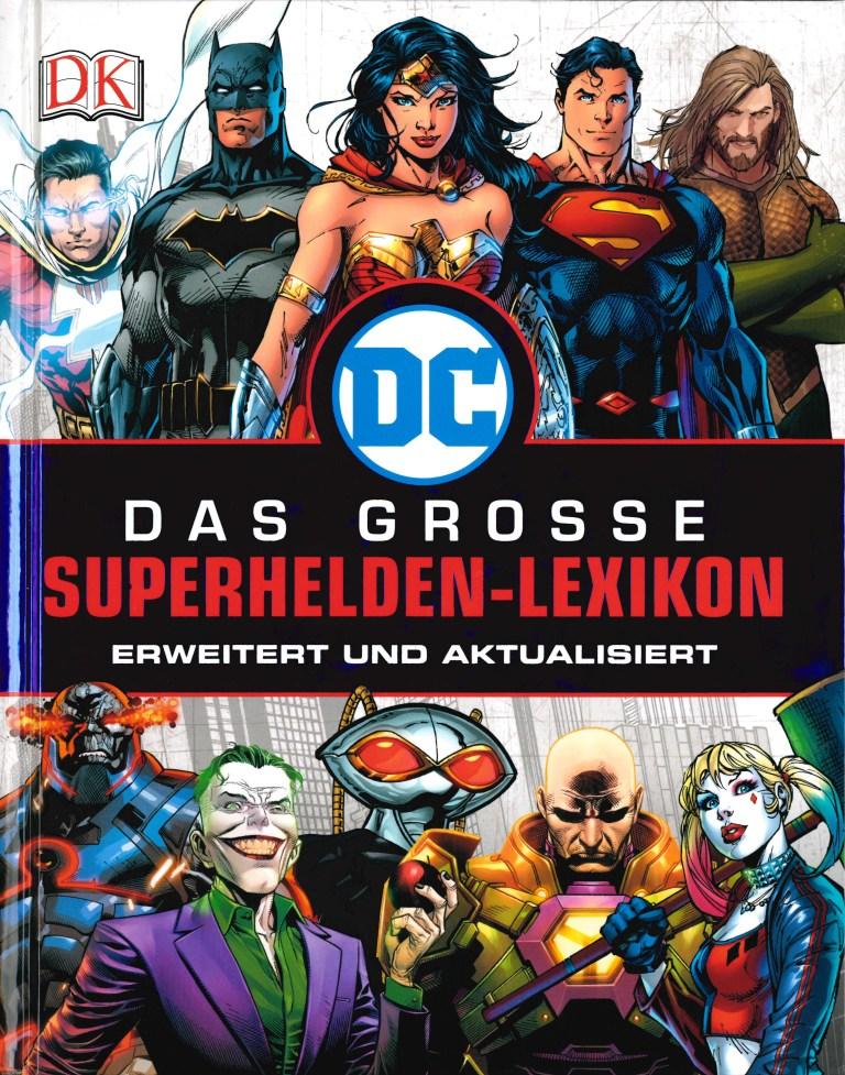 Das grosse Superhelden-Lexikon - Titelcover
