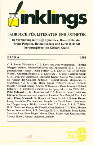 Inklings-Jahrbuch, Band 6 - Titelcover