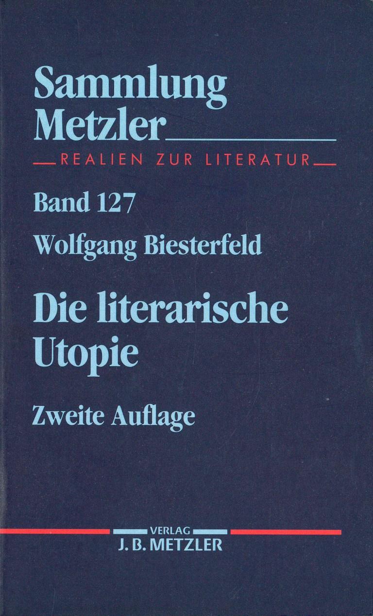 Die literarische Utopie - Titelcover