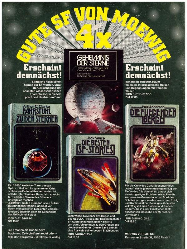 Perry Rhodan Magazin 1979/5 - Rückencover
