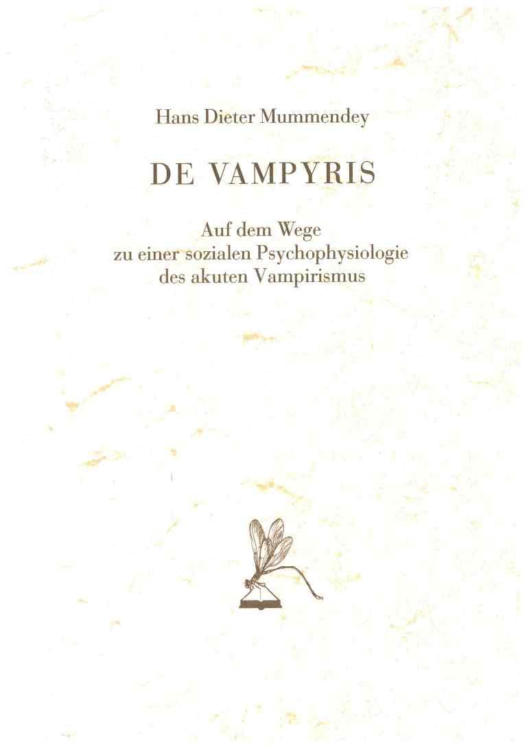 De Vampyris - Titelcover
