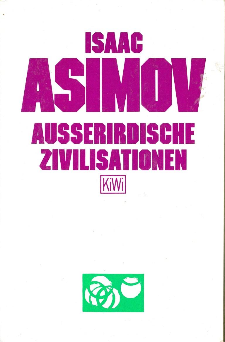 Ausserirdische Zivilisationen - Titelcover