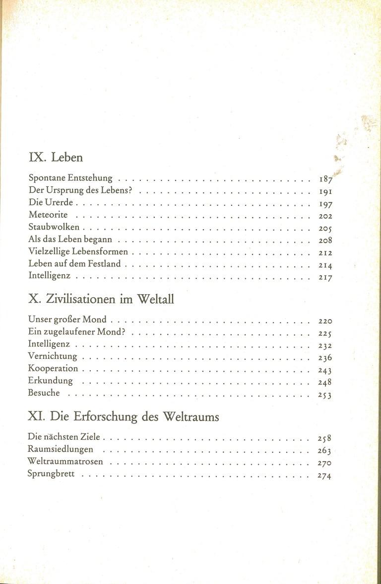Ausserirdische Zivilisationen - Inhalt Seite 3