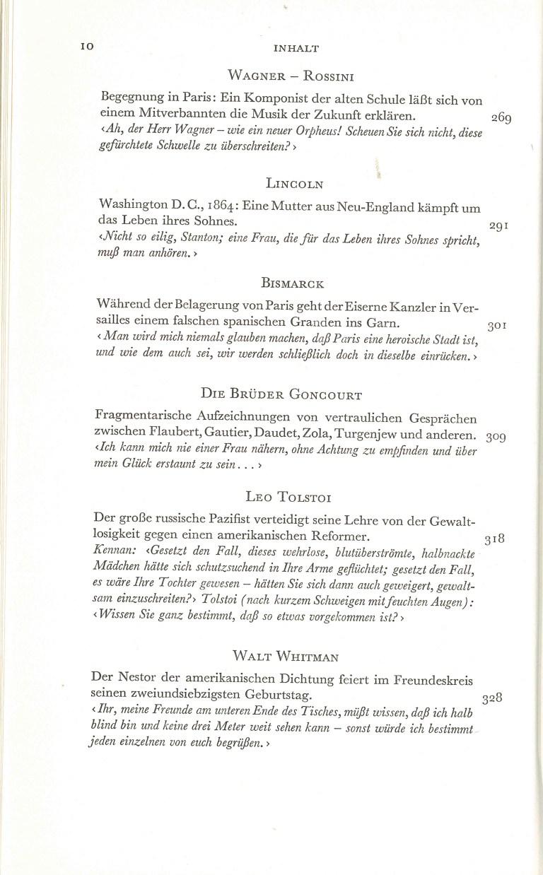 Große Gespräche - Inhalt Seite 5
