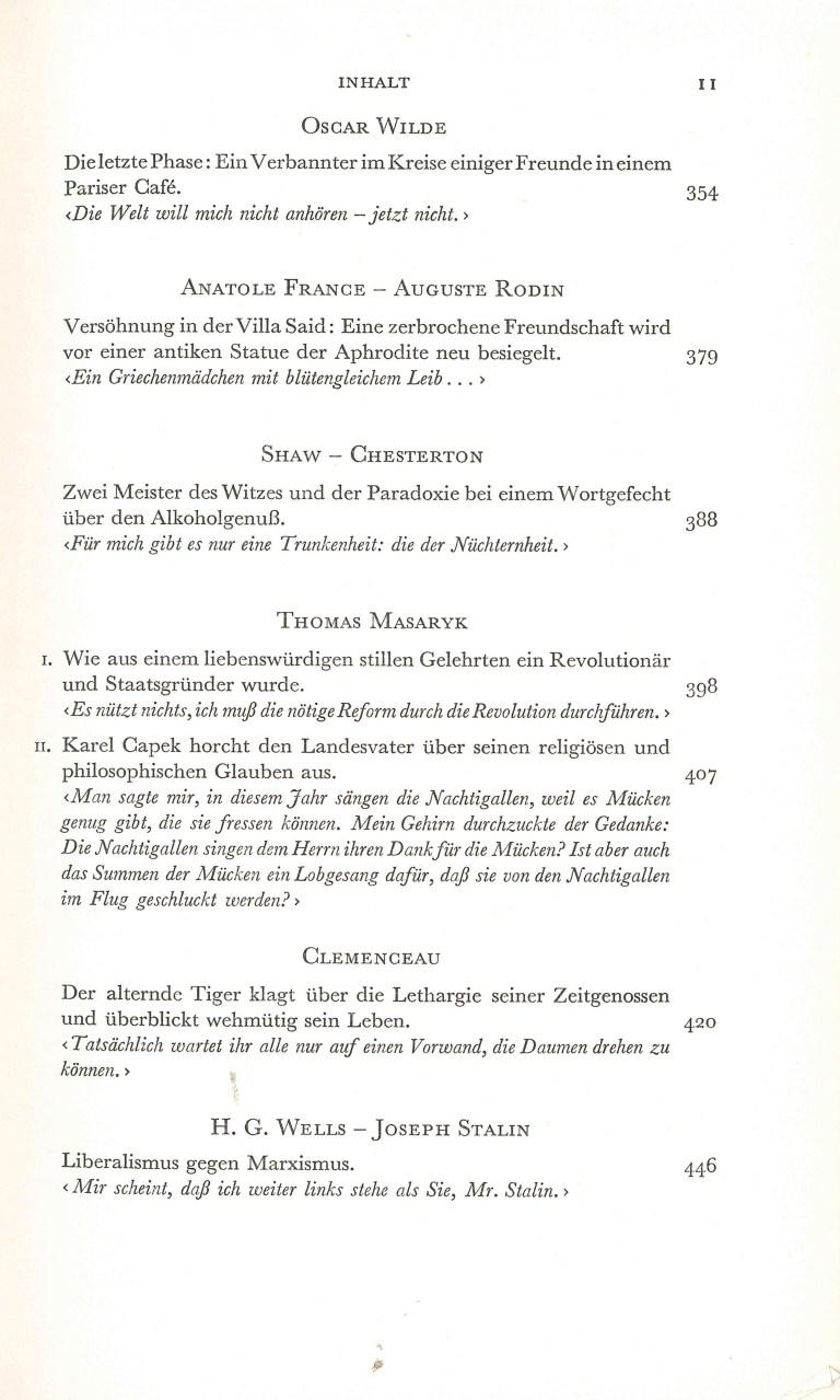 Große Gespräche - Inhalt Seite 6