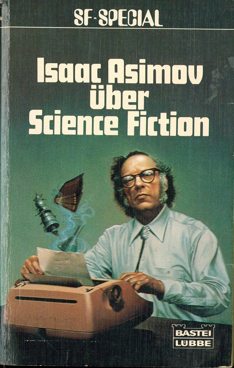 Isaac Asimov über Science Fiction - Titelcover
