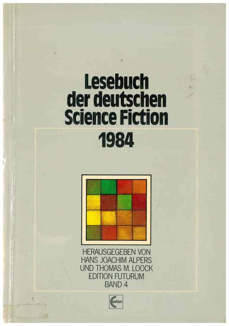 Lesebuch der deutschen Science Fiction 1984 - Titelcover