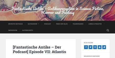 Phantastische Antike - Atlantis