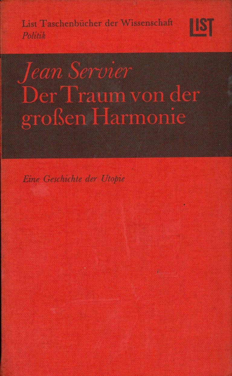 Der Traum von der großen Harmonie - Titelcover